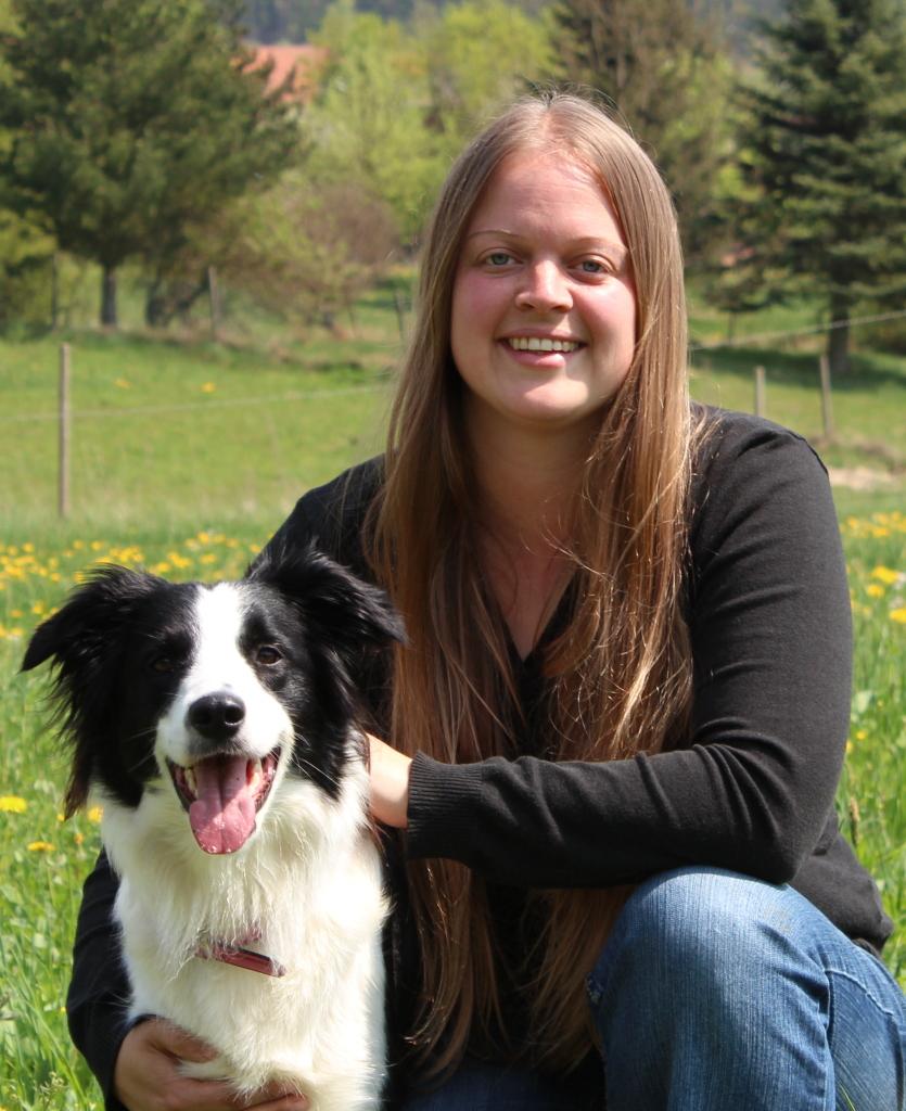 Sprachhund® Lady und Andrea Seifert, Inhaber Spracherlebniscamp Wasserkuppe